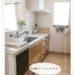 食洗機のドアパネルDIY